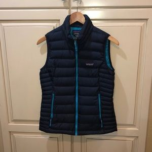 Patagonia down puffer vest